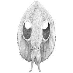 """Porky Hefer, """"Specimen I"""", Kooboo Cane Hanging Seating Pod"""