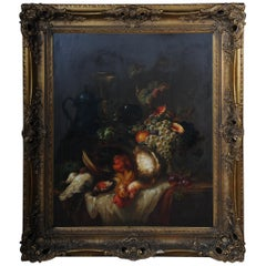 Still Life Oil Paintings Sign Reinhard, After Old Master of the 17th Century
