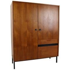 Minimalistic Vintage Teak Cabinet, 1970s