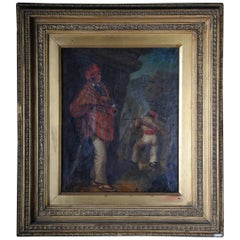 Oil Painting Soldiers with Guns High Quality, 19th Century