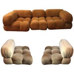 Camaleonda Sofa Design Mario Bellini 5 Pieces