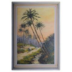 Orientalische Maler Ölgemälde, signiert O. Birkholz