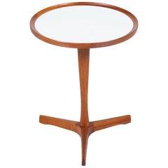 Danish Modern Tri-Leg Teak Side Table by Hans C. Andersen