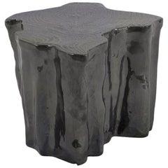 Heaven Black Ceramic Side Table