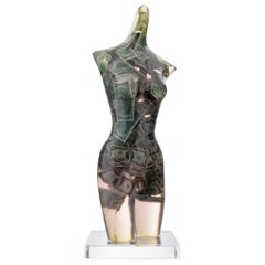Large Arman Venus with Two Dollar Bills Sculpture, Unique