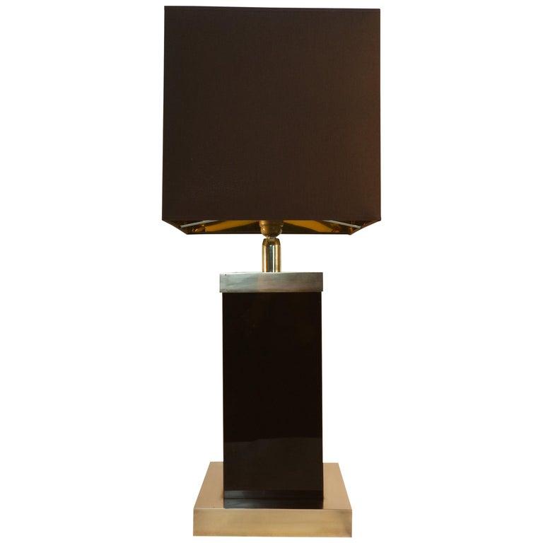 Romeo Rega Table Lamp Signed, 1970s 1