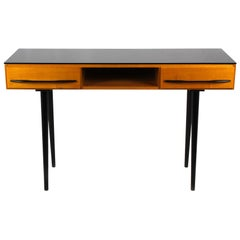 Midcentury Desk or Console Table by Mojmír Požár for UP Bučovice, 1960s