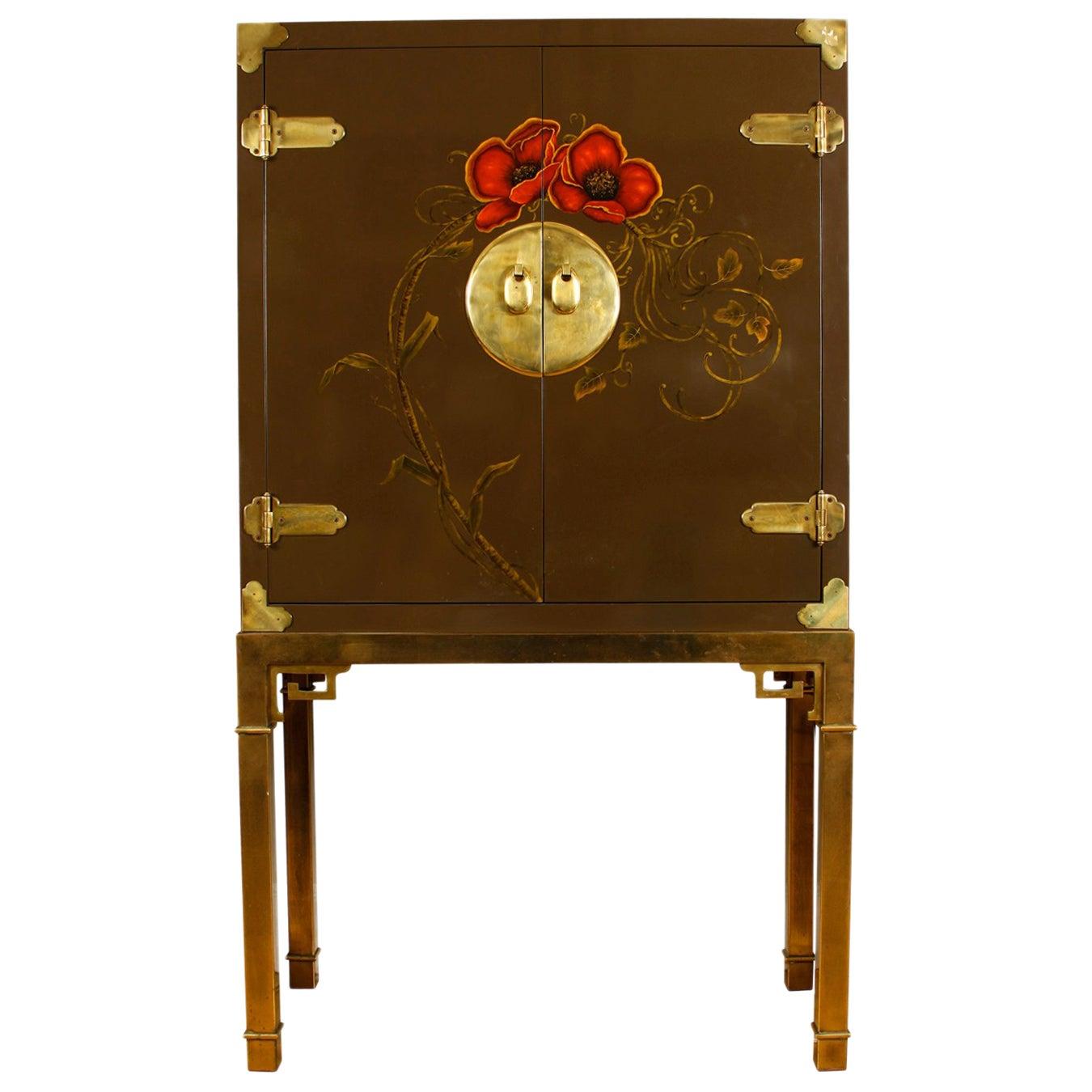 Mastercraft 1970s Custom Lacquered Cabinet