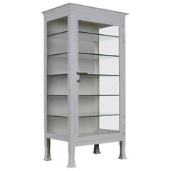 Industrial Case Pieces and Storage Cabinets