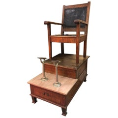 Antique Hotel Shoe Shine Stand