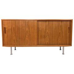 Small Credenza or Sideboard in Teak by Paul Hundevad