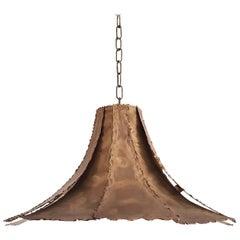 Svend Aage Holm Sorensen Brutalist Ceiling Lamp, 1960s for Holm Sorensen & Co.