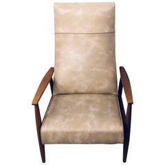 Milo Baughman Reclining Lounge Chair Thayer Coggin