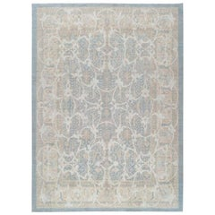 Traditional Handwoven European Style Rug, 121