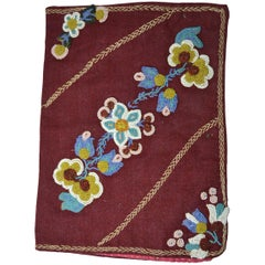 Old Native American Indian Woodlands Beaded Book Bible Cover