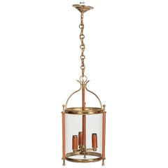 1950s Lantern by Jacques Adnet