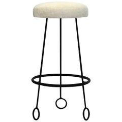 'Yo-Yo' Stool in the Manner of Jean Royère