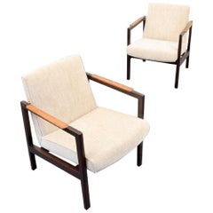 Pair of Edward Wormley Lounge Chairs