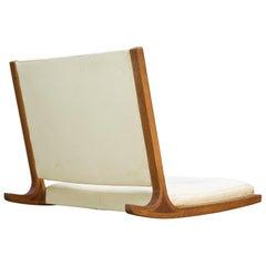 Midcentury Japanese Tamtami Rocking Lounge Chair by Junzo Sakakura, Tendo Mokko