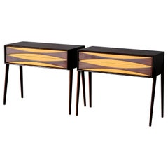 Rimbert Sandholt, Nightstands in Rosewood