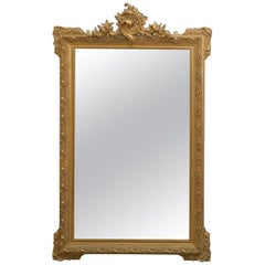 Very Decorative Gilt Mirror