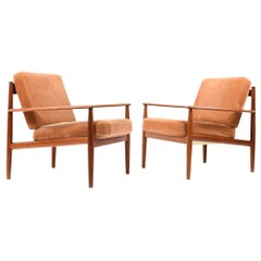Set of Two Easy Chairs, Model 118 by Grete Jalk