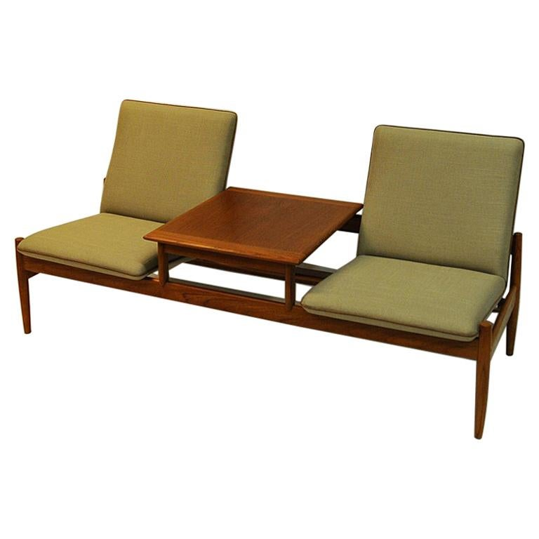 Sofa Module Set Saga with Table by Gunnar Sørlie 1958, Norway For Sale