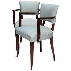 Pair of French 1940s Bridge Chairs