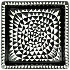Stig Lindberg Domino Ceramic Tray by Gustavsberg in Sweden