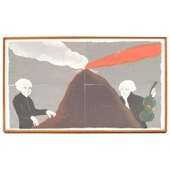 Contemporary Art Print of Mozart