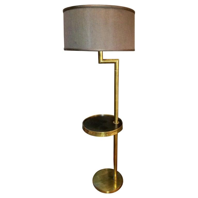 Rare Bronze Floor Lamp by Hart Associates For Sale