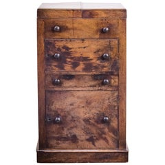 Antique Georgian 18th Century Military Campaign Chest Washstand