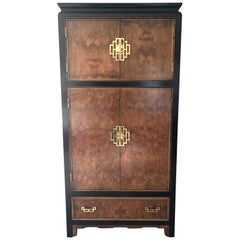 Century Furniture Company Midcentury Mod Asian Style Cabinet Wardrobe Dresser