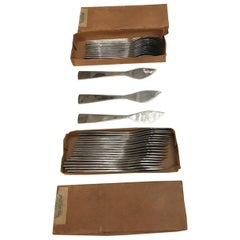 Gio' Ponti Set of Knifes and Forks, 1950s