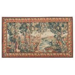 18th Century Design Verdure Tapestry Landscape