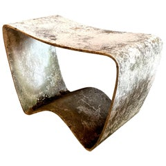 Concrete Stool by Ludwig Walser for Eternit