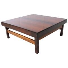 Viana Center Table in Jacaranda by Sergio Rodrigues, 1960 Brazilian Midcentury