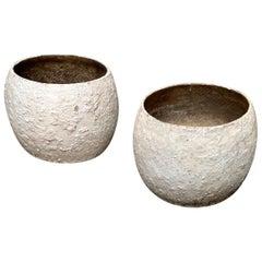 Willy Guhl Concrete Vases
