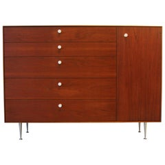 George Nelson Rosewood Thin Edge Chest Dresser Herman Miller