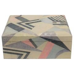 Shagreen-Esque Box by Designer Maitland Smith