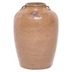 19th Century Chinese Glazed Stoneware Jar