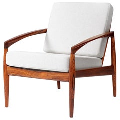 Kai Kristiansen Rosewood Paper Knife Lounge Chairs