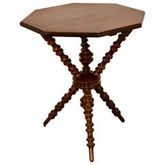 19th Century Octagonal Table
