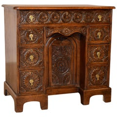 19th Century English Knee Hole Desk