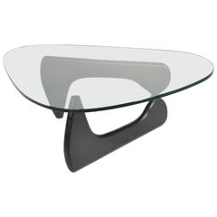 Original Isamu Noguchi Sculpture Coffee Table for Herman Miller in Black