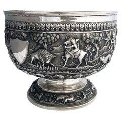Indian Colonial Presentation Bowl