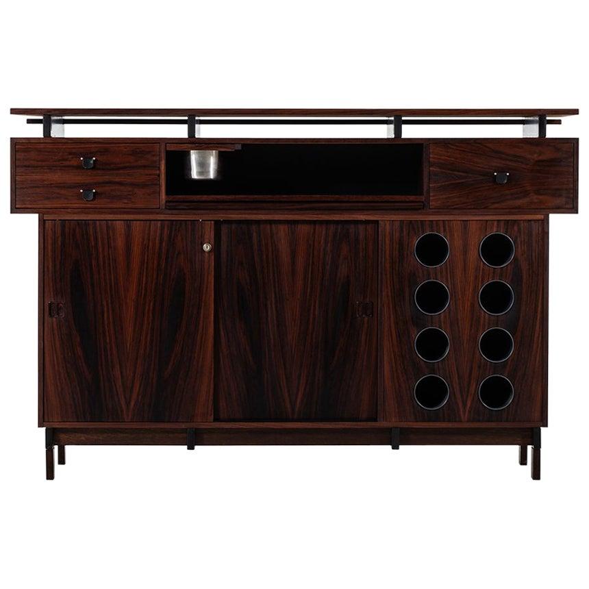 Bar Cabinet in Rosewood by Dyrlund in Denmark