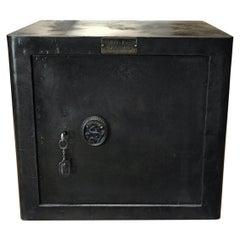 Bauche Metal Safe with Original Key, 1920s