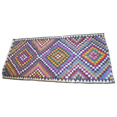Big Colorful Vintage Carpet