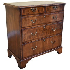 18th Century George III Walnut Chest of Drawers